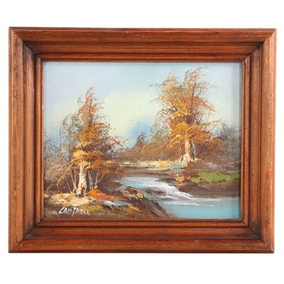 Phillip Cantrell Landscape Oil Painting