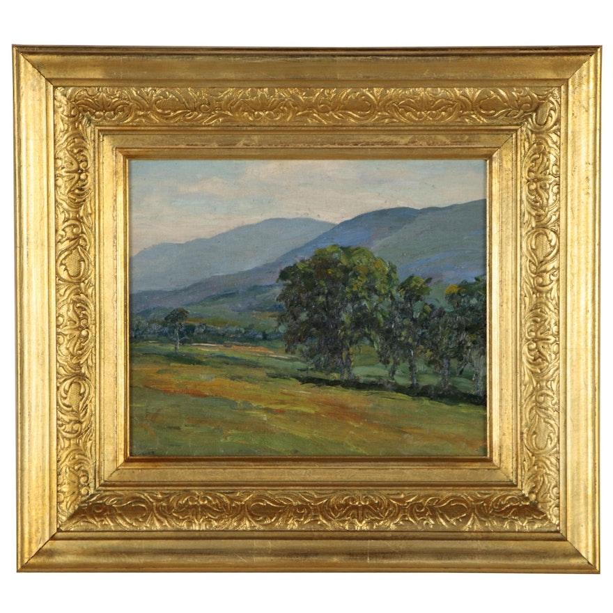 Cecil Vezin Grant Landscape Oil Painting