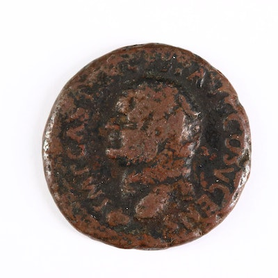 Ancient Roman Imperial AE As Coin of Vespasian, ca. 74 A.D.