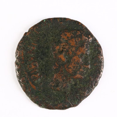 Ancient Roman Imperial AE As Coin of Augustus, ca. 15 B.C.