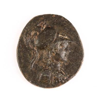 Ancient Phrygia, Apameia AE24 Bronze Coin, ca. 148 B.C.