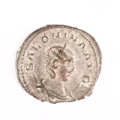 Ancient Roman Imperial AR Antoninianus coin of Salonina, ca. 258 A.D.