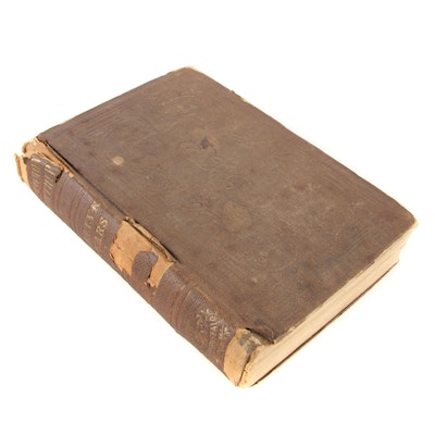 """Early Printing """"Twelve Years a Slave"""" by Solomon Northup, 1853"""