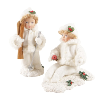 Winter Themed Figurines and Table Décor