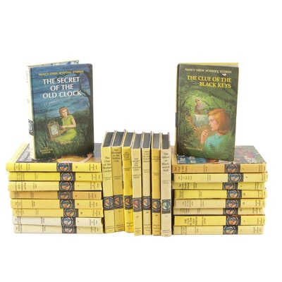 """Nancy Drew"" Book Collection by Carolyn Keene, 1950s–1960s"