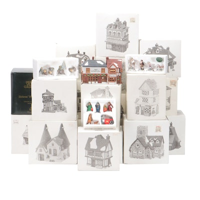 "Department 56 ""Dickens' Village"" and ""Heritage Village"" Buildings"