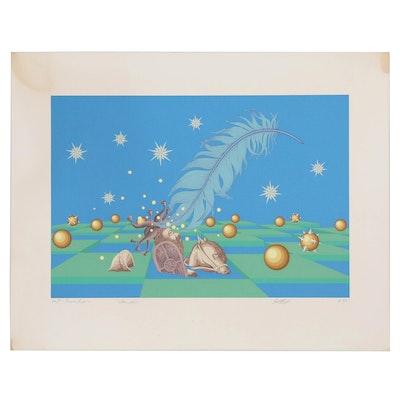"Serigraph ""Illumination"", 1983"
