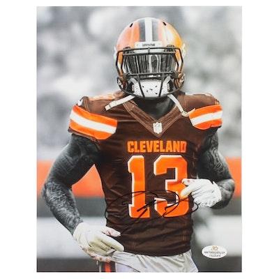 Odell Beckham, Jr. #13 Cleveland Browns Autographed Photo