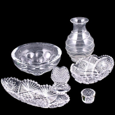 Waterford, Orrefors, Juliska and Other Crystal and Glassware