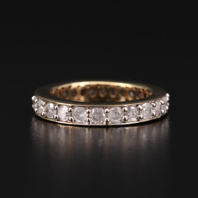 10K Gold 1.75 CTW Diamond Eternity Band