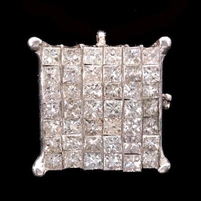 Scrap 14K Gold and Diamond Jewelry Component
