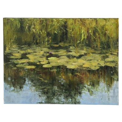 "Garncarek Aleksander Oil Painting ""Nenutavy"""