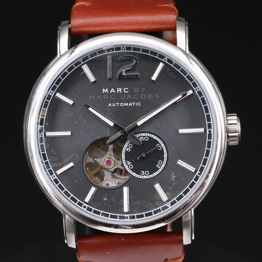 Marc By Marc Jacobs Stainless Steel Automatic Wristwatch