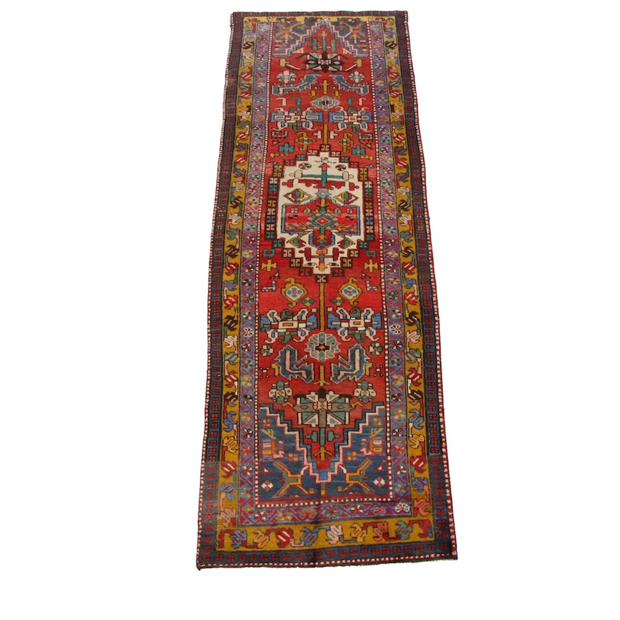 3'1 x 9'8 Hand-Knotted Persian Carpet Runner