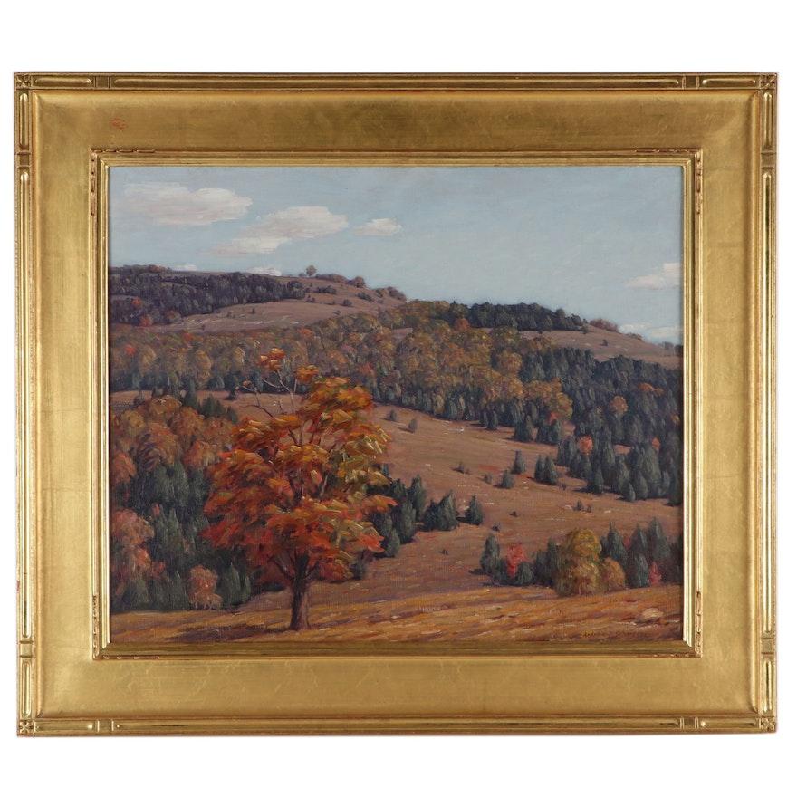 Andrew T. Schwartz Landscape Oil Painting