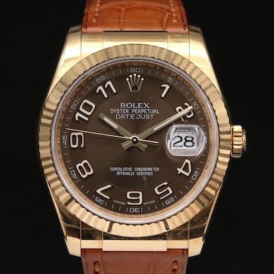 Rolex Datejust 116138 18K Yellow Gold Automatic Wristwatch