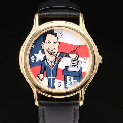 Al Gore 2000 Presidential Election Novelty Quartz Wristwatch