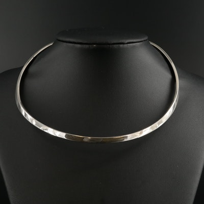 Torque Style Collar Necklace