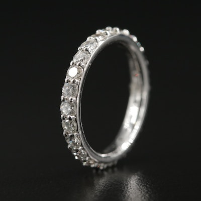 14K 1.28 CTW Diamond Eternity Band
