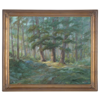 Mitzi Goward Landscape Oil Painting