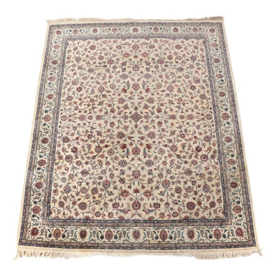 8'2 x 10'8 Pakistani Power Loomed Floral Wool Area Rug