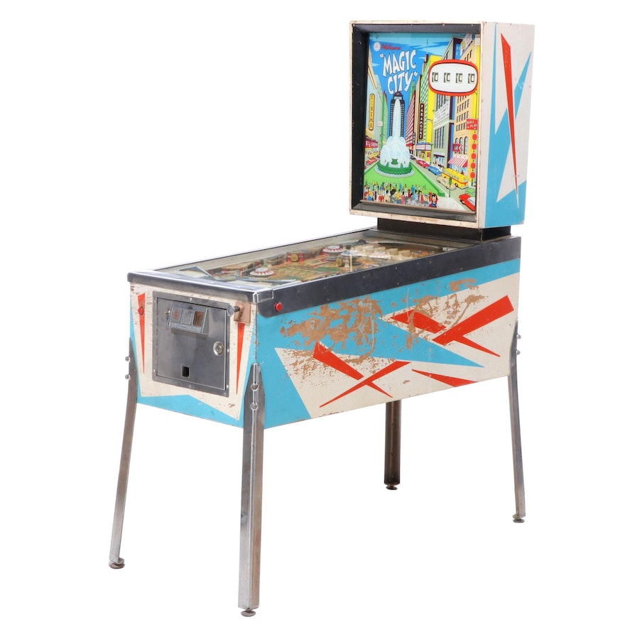 "Williams ""Magic City"" Pinball Machine"