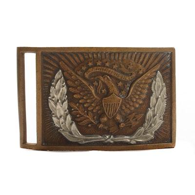 Civil War Regulation Model 1851 Federal Sword Belt Plate