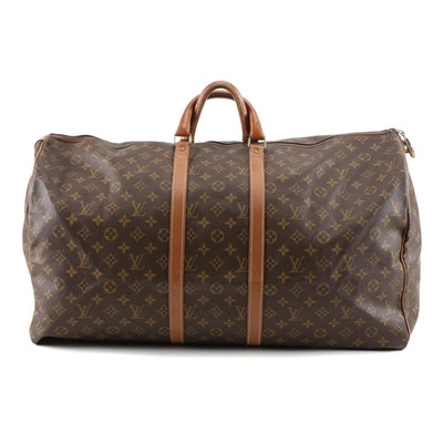 The French Company for Louis Vuitton Duffle Bag in Monogram Canvas and Leather