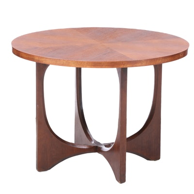 Mid Century Modern Walnut Side Table