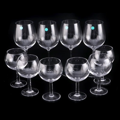 Tiffany & Co. Crystal Wine Glasses and Water Goblets