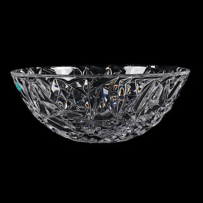 "Tiffany & Co. ""Rock Cut"" Crystal Bowl"