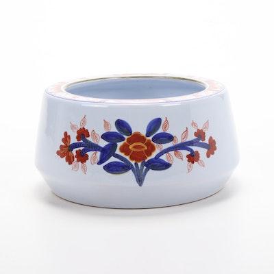 Italian Hand-Painted for Tiffany & Co. Majolica Bowl