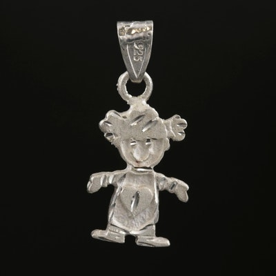 Sterling Silver Child Pendant