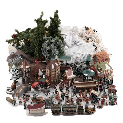 "Department 56 Christmas ""Dickens Village Series,"" Figurines and More"