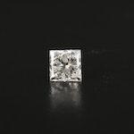 Loose 0.97 CT Diamond Gemstone with GIA Report