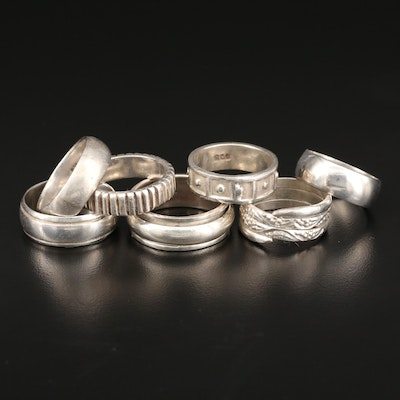 Sterling Silver Band Selection