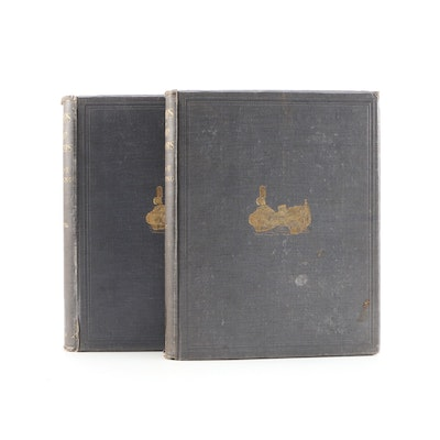 "1895 ""Pumps and Pump Motors"" by Philip R. Björling, Two Volumes"