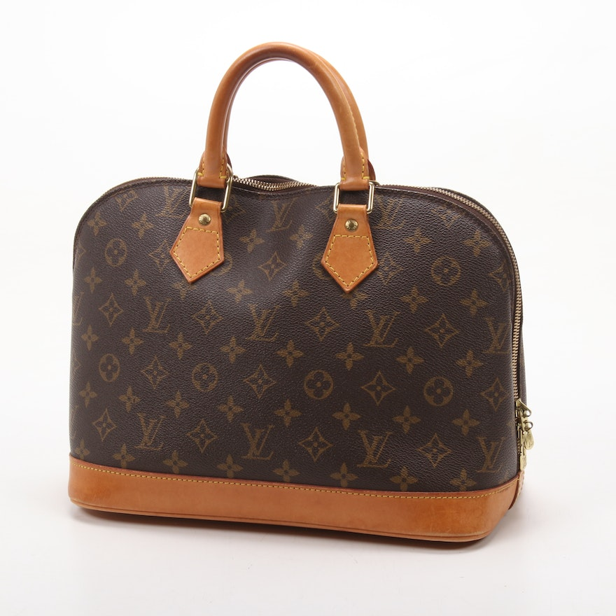 Louis Vuitton Alma PM in Monogram Canvas and Leather