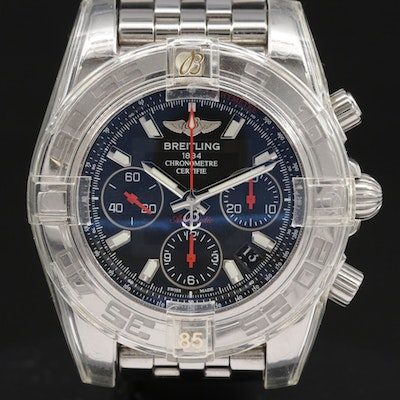 Breitling Chronomat 41 Limited Edition Stainless Steel Automatic Wristwatch