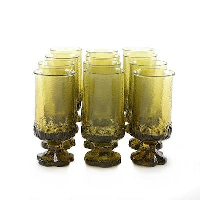 "Franciscan Citron Green ""Madeira"" Iced Tea Glasses, 1971–1978"