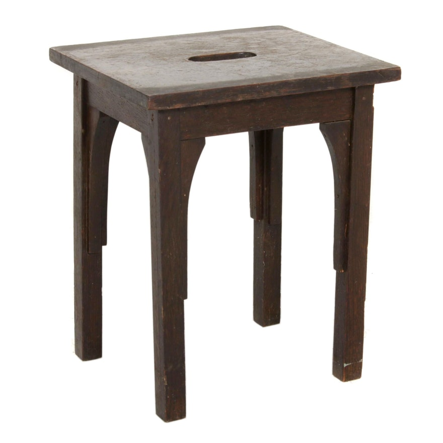 Chinese Style Wooden Step Stool