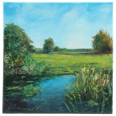 Garncarek Aleksander Landscape Oil Painting, 2020