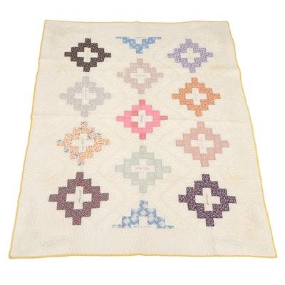 Handmade Cotton Patchwork Friendship Quilt
