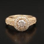14K Gold 1.81 CTW Diamond Ring