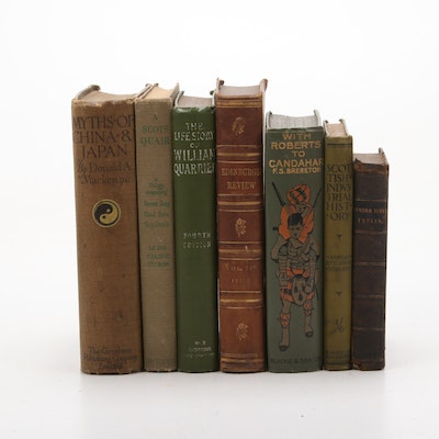 """1907 Early Edition """"With Roberts to Candahar"""" with Additional Nonfiction Books"""