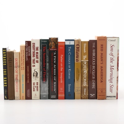 Native American Indian Book Assortment, Including First Editions