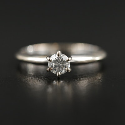 14K Gold 0.23 CT Diamond Solitaire Ring