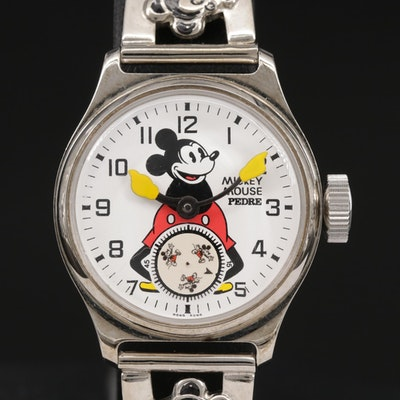 Mickey Mouse Pedre Quartz Wristwatch