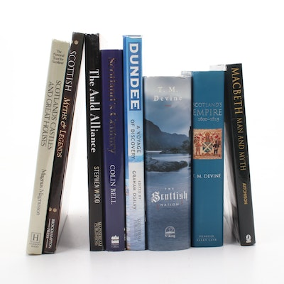 Scottish History, Homes, and Lore Hardcover Book Collection