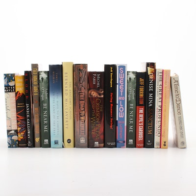 First Edition and Signed Historical Fiction Books